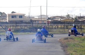 Tradicional Carrera de Carros en Concepción