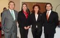 Lionel Sotomayor, Maribel Vidal, Marlen Velazquez y Claudio Orellana