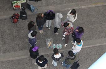 Futuros alumnos participan de actividades en la Facultad de Ingeniería