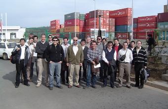 Visita a Puerto de Valparaíso