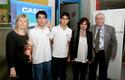 Equipo Colegio Don Orione de Quintero junto con Ruben Preiss.