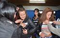 Bienvenida a alumnos de Concepción.