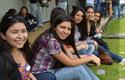Alumnas de primer año de Ingeniería de Concepción.