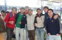 Alumnos junto a Pedro Silva, Director de Ingeniería Civil.