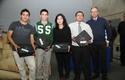 El equipo ganador del colegio Nueva Era Siglo XXI de Puente Alto.