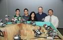 Felipe Garrido, Sebastian Espinoza, Paula Salinas, José Manuel Robles y Moisés Cid.