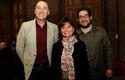 Allan Urban, Andrea Detmer, Subdirectora de Innovación PUC, y Camilo Rodríguez-Beltrán.