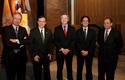 Autoridades en inauguración Provial 2012