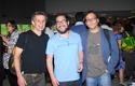 Eric Berlow, Camilo Rodríguez-Beltrán y Alex Godoy.