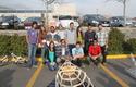 Grupo de Taller de Ingeniería presentando su proyecto.