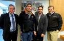 Reinaldo Bareyns, Rodolfo Kock, Felipe Baesler y Pedro Silva