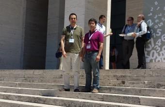 Docentes de Ingeniería UDD exponen en Roma