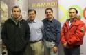 Carlos Busuldu, Pedro Silva, Moises Campillo y Amado Godoy - copia