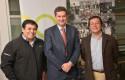 Pedro, José Manuel Gana, Juan Eduardo Gallardo.