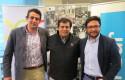 Tomás Pacheco, Pedro Silva y Ángelo Cares