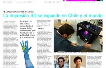 La impresión 3D en Chile, según el profesor Camilo Rodríguez.