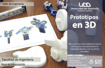 Taller de Ingeniería: impresión 3D