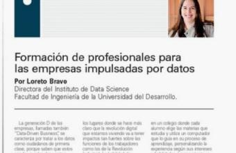 Formación de profesionales para las empresas impulsadas por datos