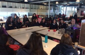 Día internacional de las niñas TIC en la UDD gracias a Technovation Challenge