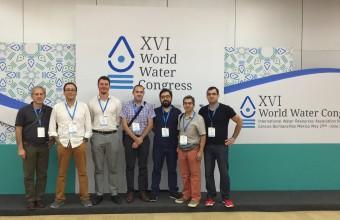 Investigadores del CISGER participaron en la conferencia más relevante en recursos hídricos