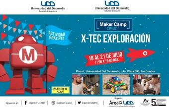 Actividades de vacaciones: Maker Camp