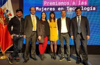 Francisca Varela del Instituto Data Science gana premio InspiraTEC