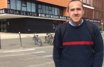 Dr. Gabriel Candia presentó su investigación en Francia