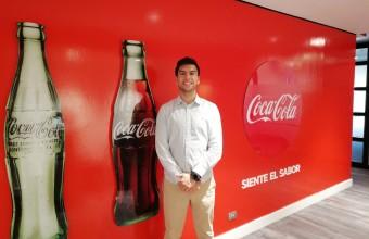 Testimonio: Felipe Quintana realiza su práctica profesional en Coca Cola