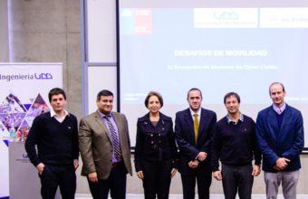 Gran convocatoria tuvo la cuarta versión del seminario de Obras Civiles UDD - UANDES