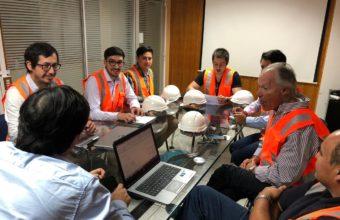 Alumnos de Ingeniería Civil Industrial iniciaron consultorías a Vidrios Lirquén