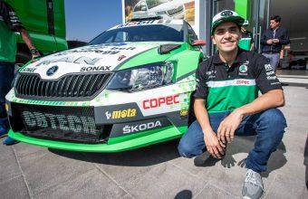 Jorge Martínez y su destacada participación en el Campeonato Mundial de Rally