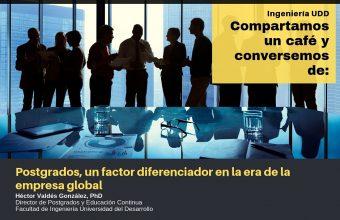 Postgrados, un factor diferenciador en la era de la empresa global