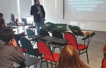 Se inició ciclo de charlas con profesores de Ingenieria Civil en Minería UDD