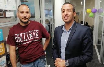 Ingeniería UDD recibe la visita del profesor marroquí Lahcen El Youssfi, de la Global Young Academy