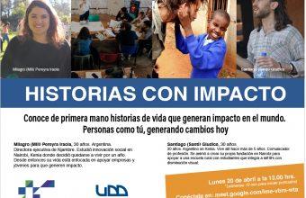 Historias con Impacto: Personas como tú que generaron cambios