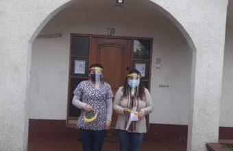 Entregamos donación de protectores faciales a Fundación María Ayuda