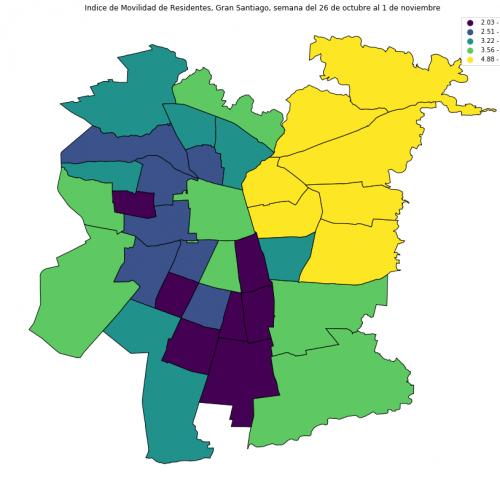 ¿Cuánto aumentó la movilidad en la Región de Valparaíso después del paso a Fase 3?