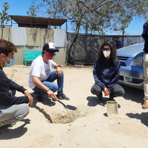 Equipo de ImpactoUDD implementó kits de suelos en la Región de Atacama junto a la Fundación Atacama Verde
