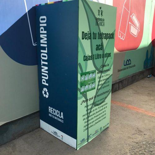 """""""Sustenta la infancia"""": Proyecto de Impacto UDD que fomenta el reciclaje"""
