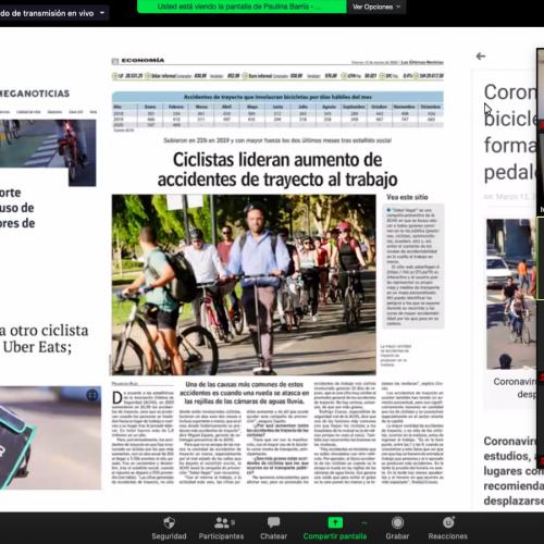 Seminario Bicicleta e Innovación presentó soluciones tecnológicas de movilidad urbana