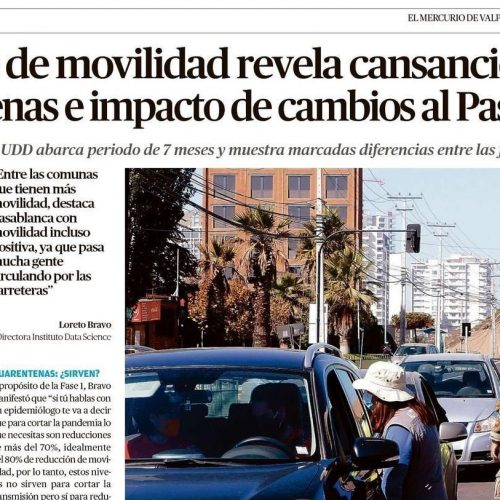 Informe de movilidad revela cansancio con las cuarentenas e impacto de cambios al Paso a Paso