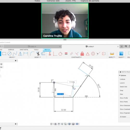 """Centro C+ realizó con éxito curso """"ISI UDD Maker: Modelado 3D"""""""