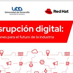 """Red Hat y UDD lanzaron curso """"Disrupción digital"""""""